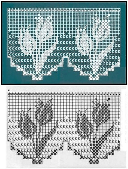 Rideaux au Crochet Fait Main (4)