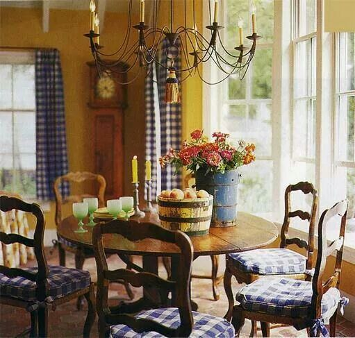 Country Dining Room Decorating Ideas: 67 Best Rooms By Color: Red, Yellow And Blue Images On