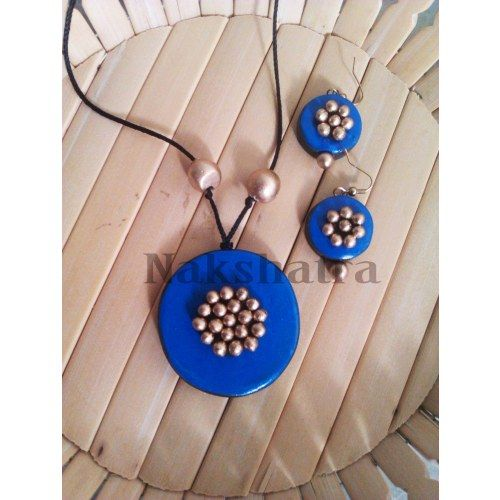 Online Shopping for Terracotta Jewelry  necklace set | Necklaces | Unique Indian Products by ambaa terracotta jewellery - MAMBA85750897470