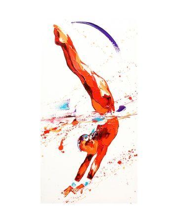 Les 7 meilleures images du tableau tableau gymnaste sur pinterest gymnastiques jeux - Dessin gymnaste ...