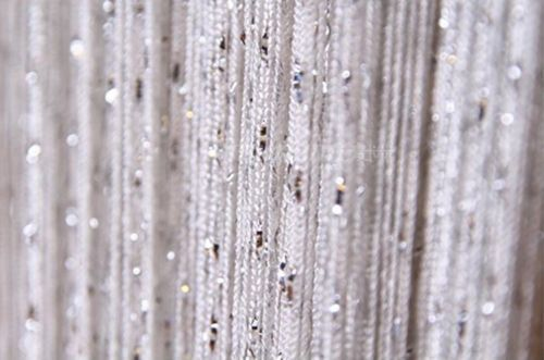 dew drop beaded string door window curtain divider room. Black Bedroom Furniture Sets. Home Design Ideas