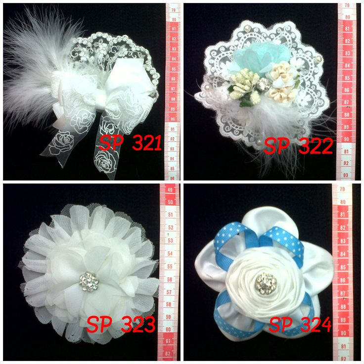 Beautiful Flower with Brokat and Fur || Indonesian hand-made  ~~ Get it in cheap price!! Interested? Leave me a comment or contact my email: nikitantri@gmail.com