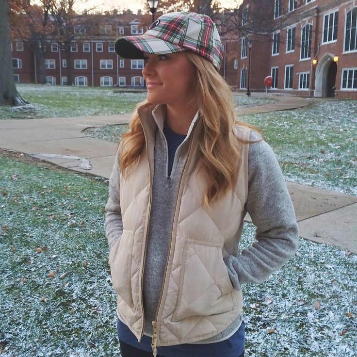 Instagram: golferprep / southern proper tartan hat, jcrew vest