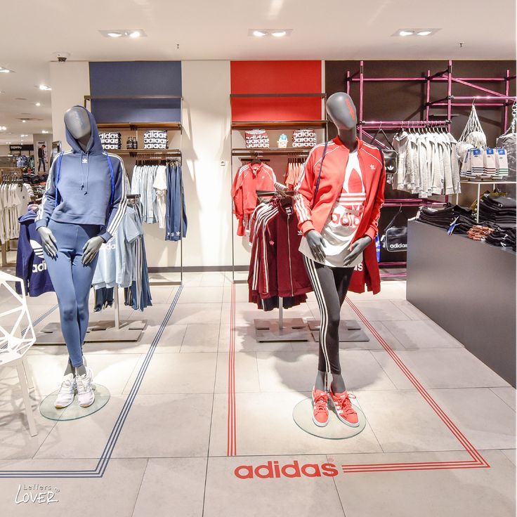 "LEFFERS MODE, Oldenburg, Germany, ""How to use color to enhance your sporting achievements"", for Adidas Originals Adicolor, pinned by Ton van der Veer"