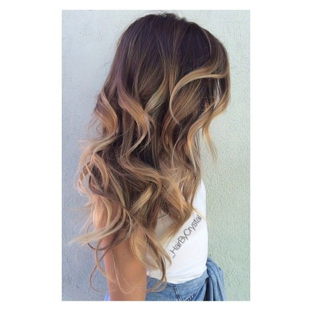 #ShareIG Golden #balayage ☀️ In outdoor lighting ... I will post an indoor lighting aswell #Hairbycrystal