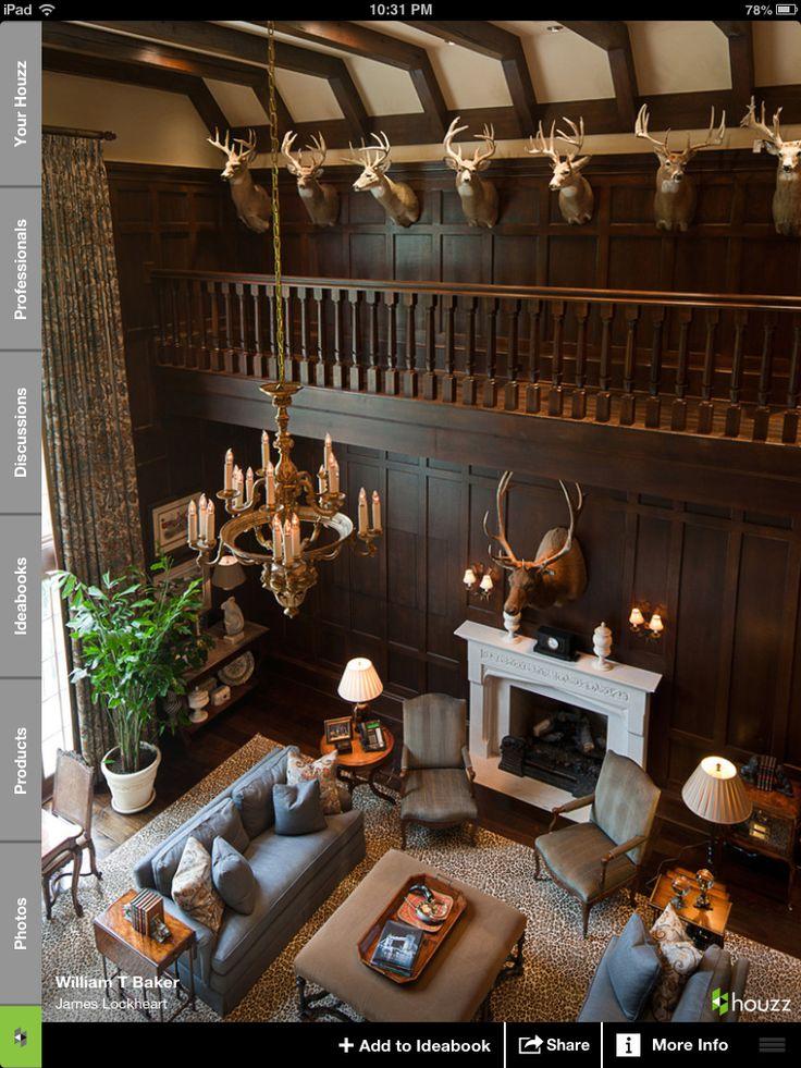 Best 25 trophy rooms ideas on pinterest for Trophy room design