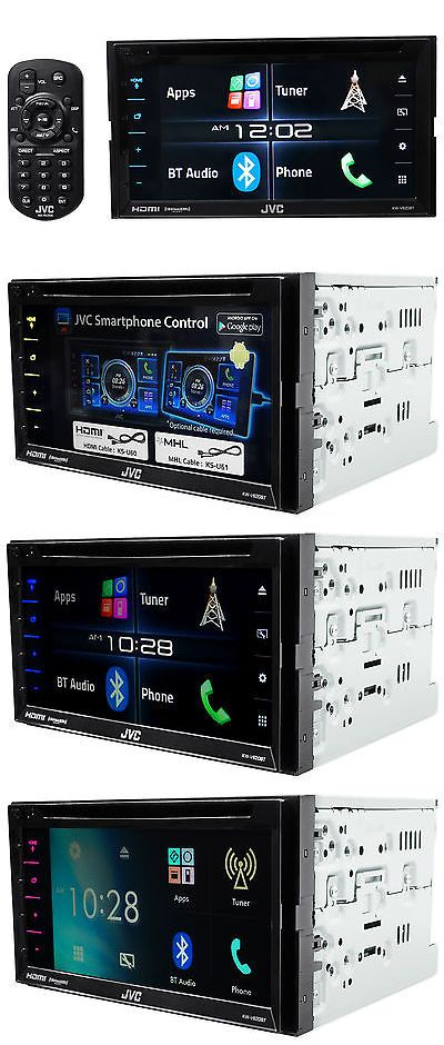 Car Audio In-Dash Units: Jvc Kw-V620bt 6.2 2-Din In-Dash Car Stereo Receiver Dvd Player W Bluetooth+Hdmi -> BUY IT NOW ONLY: $263.95 on eBay!