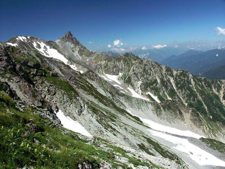 日本のマッターホルン 槍ヶ岳 Yarigatake, 5th Highest Mountain, Japan