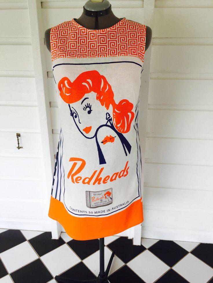 Redheads Size 14 by StitchedUpBySmith on Etsy