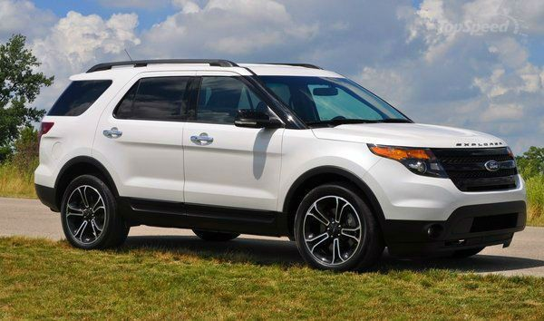 2014 Ford Explorer Sport White (trade my Limited for a Sport???)