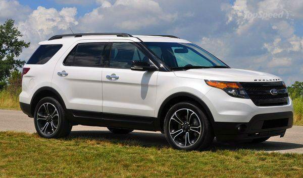 2014 Ford Explorer Sport White