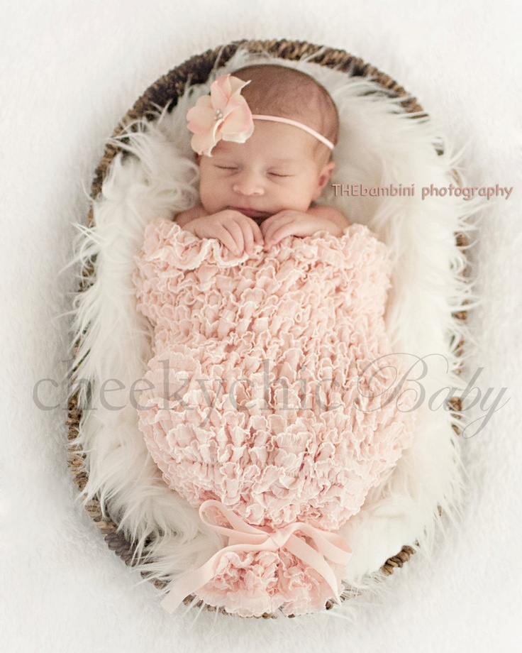 Newborn Cocoon 2-in-1 PHOTO PROP by Cheeky Chic Baby. $38.00, via Etsy.