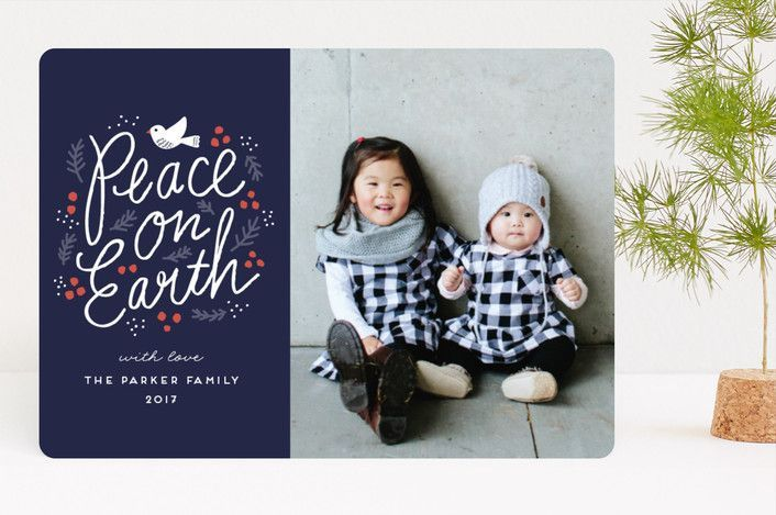 """Peaceful Branches"" - Vintage Christmas Photo Cards in Lake by iamtanya."