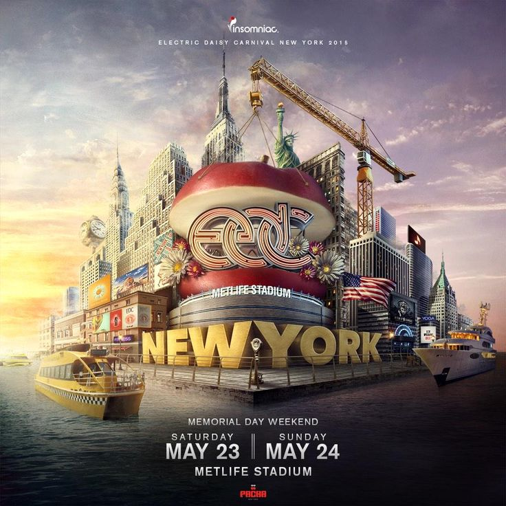 EDC New York 2015...I cannot believe I'm actually going  I can't wait!!!