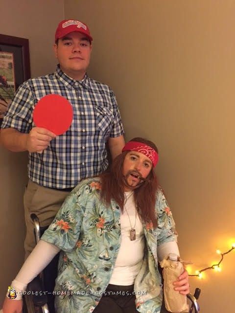 650 best couples halloween costumes images on pinterest couple forrest gump and lieutenant dan couple costume solutioingenieria Image collections