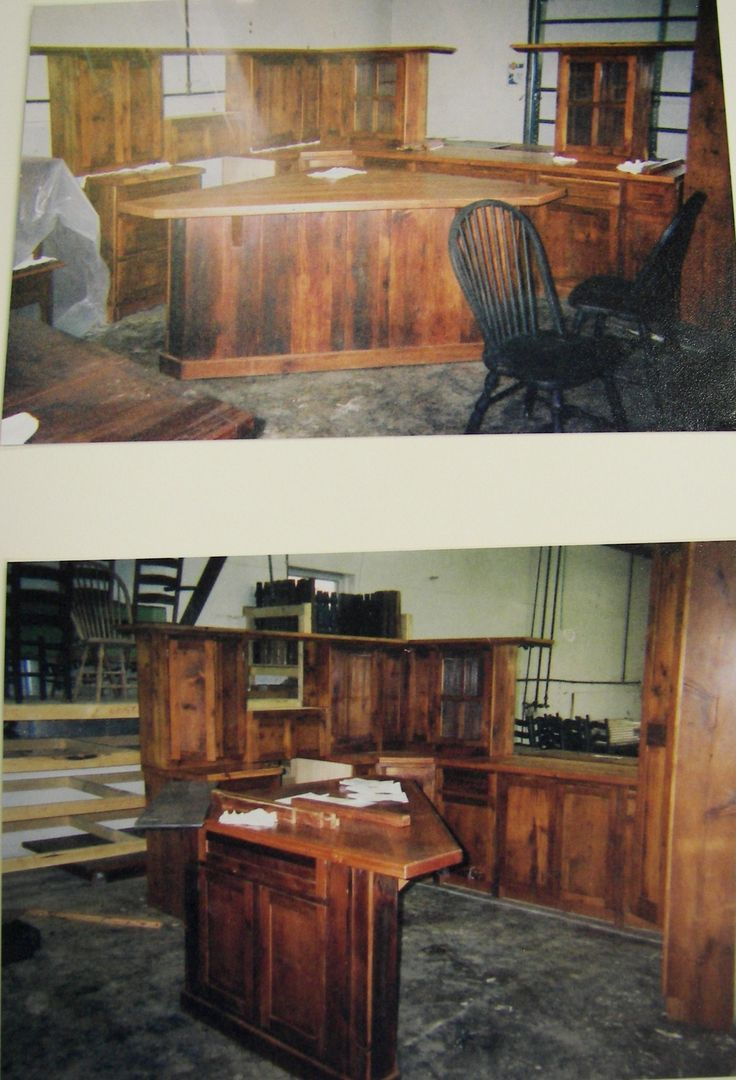Barn wood furniture - Kitchen Under Construction Custom Reclaimed Barn Wood Kitchen Cabinetry And Islands We Use Wood