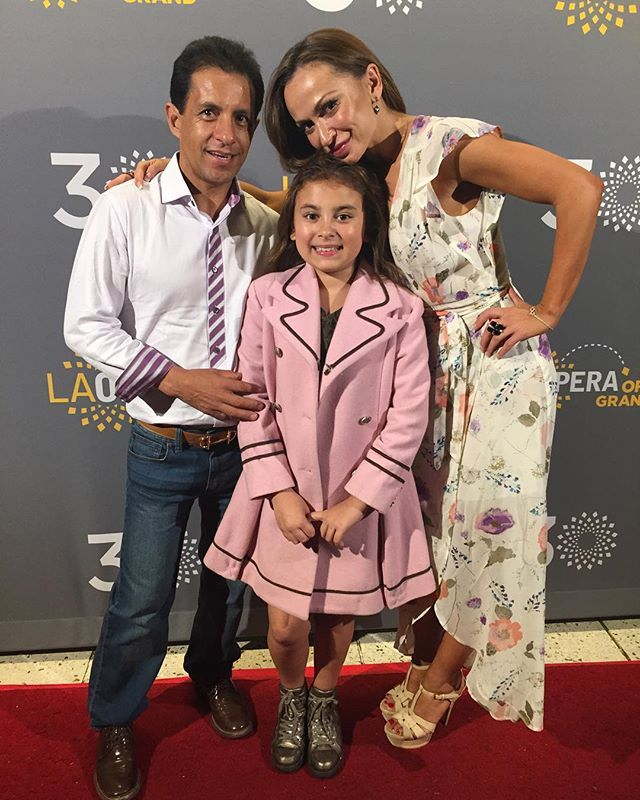 Thank you to one of our Pagliacci cast members, Emma Weisbach, for bringing Karina Smirnoff and Victor Espinoza to tonight's performance. You were a rockstar! #Pagliacci #LAO30 #dancingwiththestars