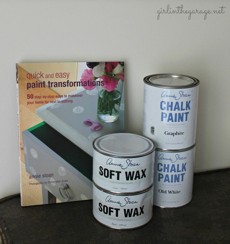 A review of Chalk Paint® decorative paint by Annie Sloan.  Also how to use both clear and dark wax on furniture.  Pin now, read later!