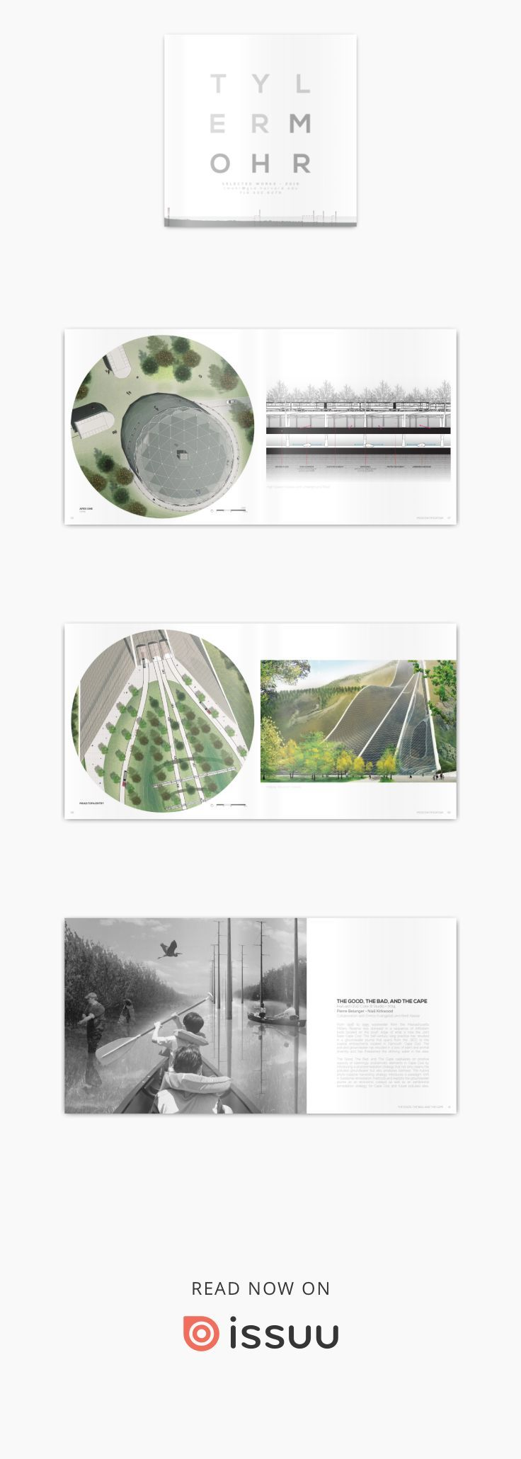Tyler Mohr 2016 Harvard GSD Landscape Architecture Portfolio - Winter  Compiled works from CSU and Harvard GSD through 2016