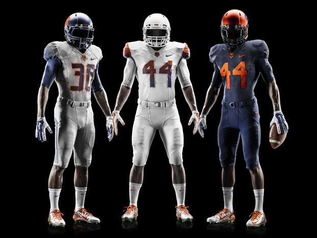 New Syracuse Football Uniforms