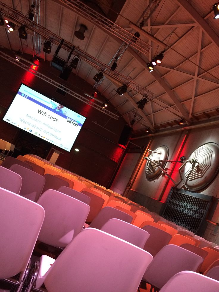 De Fabrique | Branded Content Event 2016 | 300p #event #dagvoorzitter #presentator #locations #stages #chairman #congres #zalen #venues #theaters #podia