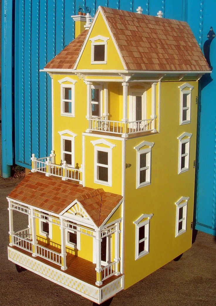 Dollhouse plans woodworking projects plans for Young house love dollhouse