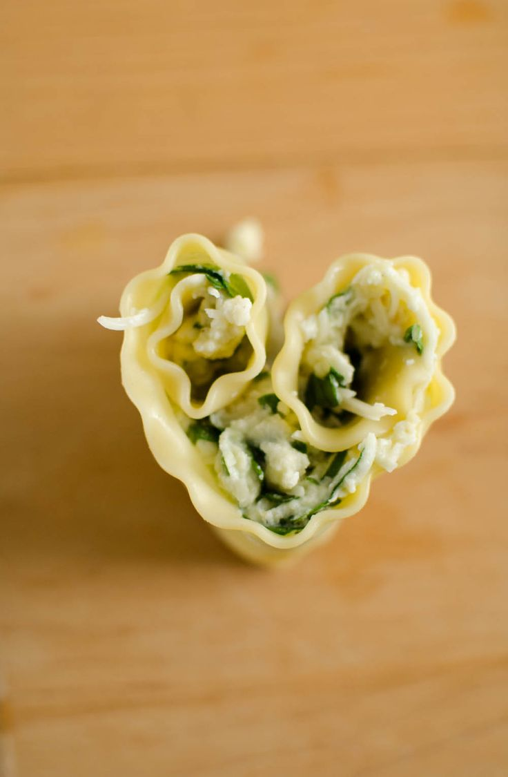 Lasagna Heart Roll Ups for Valentine's Day Dinner