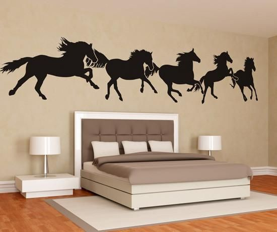 HORSES ARE COOL Running Vinyl Decal Sticker D
