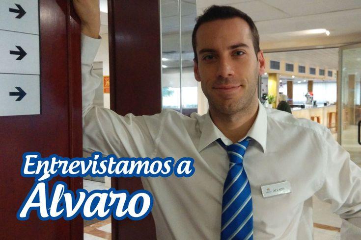¿Quieres conocer un poquito más sobre Álvaro uno de nuestros recepcionistas? Pues no te pierdas la entrevista que le hemos realizado hoy en nuestro blog. Pincha en la imagen.  #Entrevista #Equipo #Blog #HotelCarlos #HotelBenidorm #Hotel #Benidorm #Alicante #Recepcionista