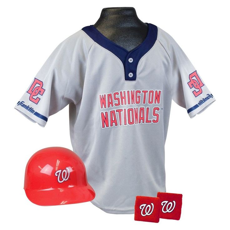 Franklin Sports Washington Nationals Uniform for Kids - One Size Fits Most (5-9 Years), Kids Unisex