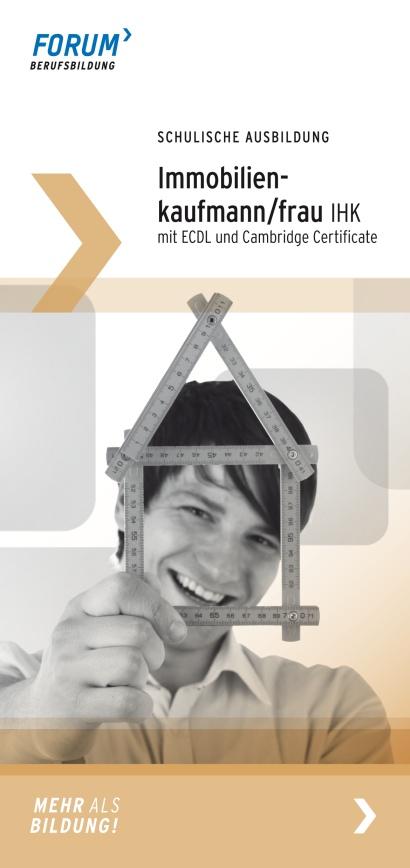 Macht eine schulische Ausbildung in Berlin zum/r Immobilienkaufmann/Immobilienkauffrau IHK! Alle Infos findet Ihr hier: http://www.forum-berufsbildung.de/Ausbildung-schulisch.1112.0.html