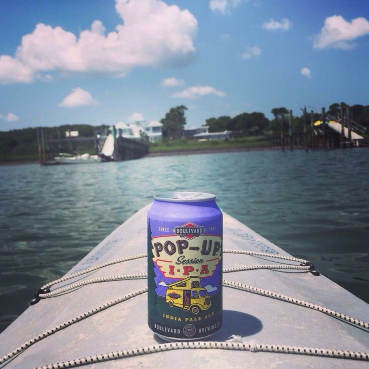 A KC beer on the water in FL.