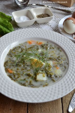 kuchnia na obcasach: Zupa szczawiowa