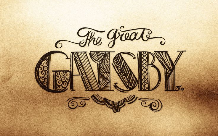 The Great Gatsby - Hay Day by Maia - Typeverything.com