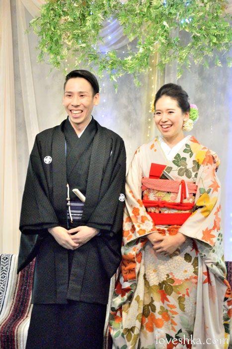 和装 / もみじ / 福島 / ウェディング / 結婚式 / wedding / オリジナルウェディング / プティラブーシュカ