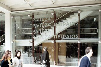 Greece, Athens, Bank Of Piraeus | Canmore