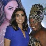Encontro de Divas no lançamento do novo perfume da atriz Juliana Paes