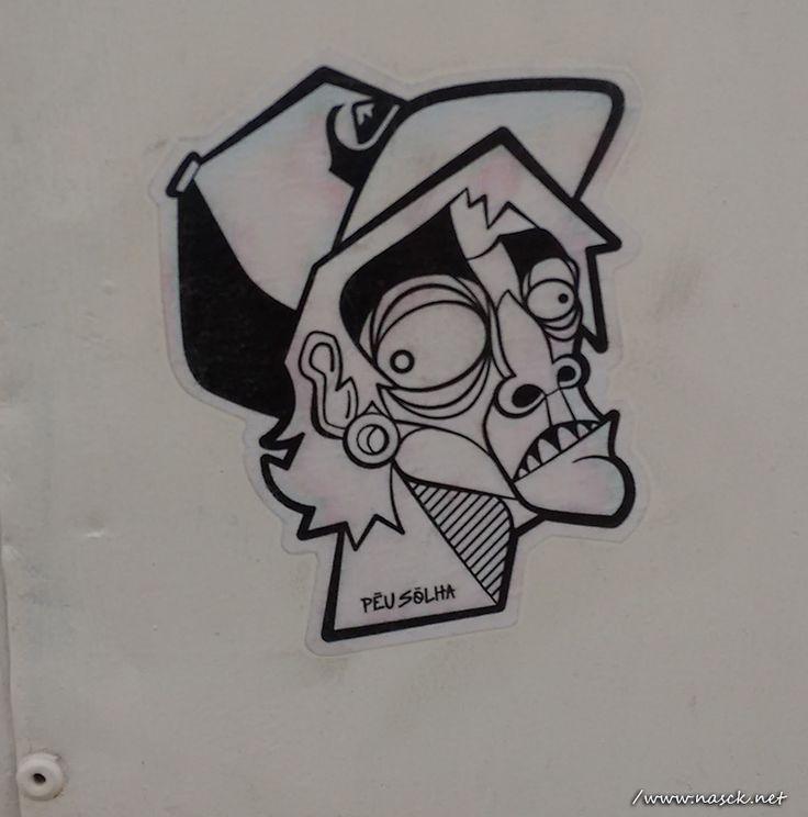 Sticker fotografado por mim no bairro da Graça Salvador Bahia