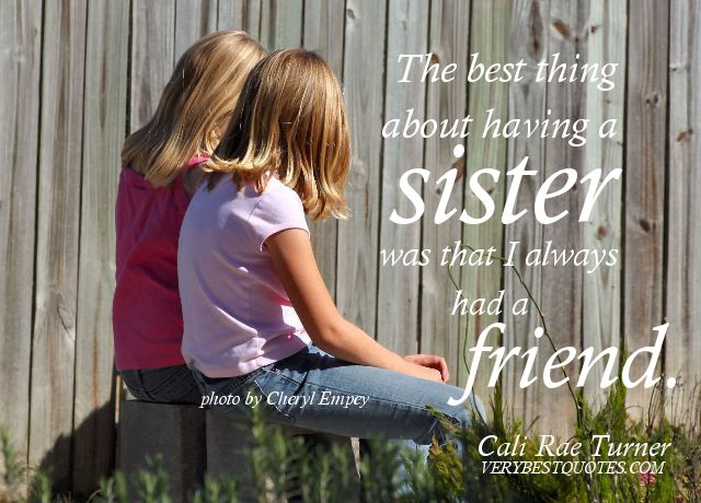 25+ Best Sweet Sister Quotes On Pinterest