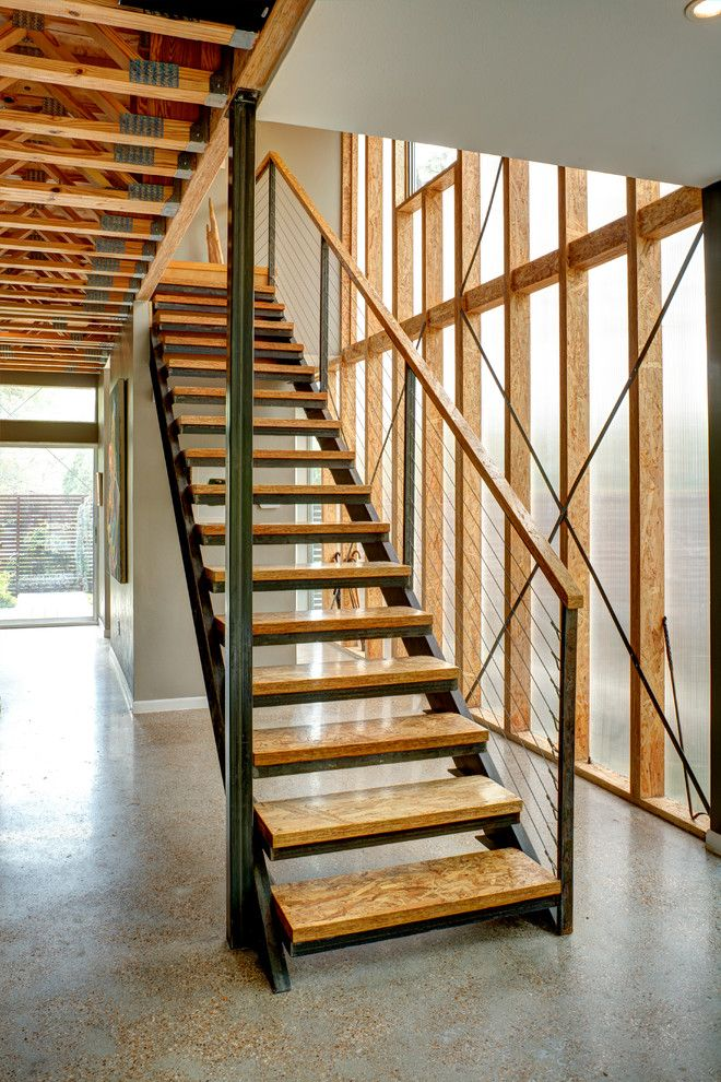Best Agruppo Architects Dallas Lvl Studs Staircase Contemporary Stair Remodel Open Stairs 400 x 300