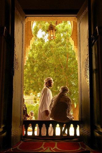 A doorway in Sudan