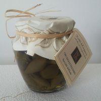 Vaso di Cucunci in olio evo - Frutti del Cappero di Pantelleria