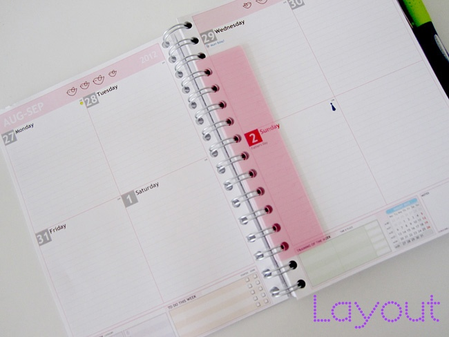 Blog Planner Inlay