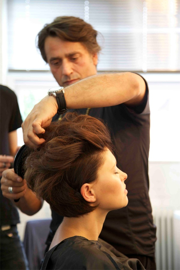 Regis UK campaign photography with brand ambassador Emma Willis
