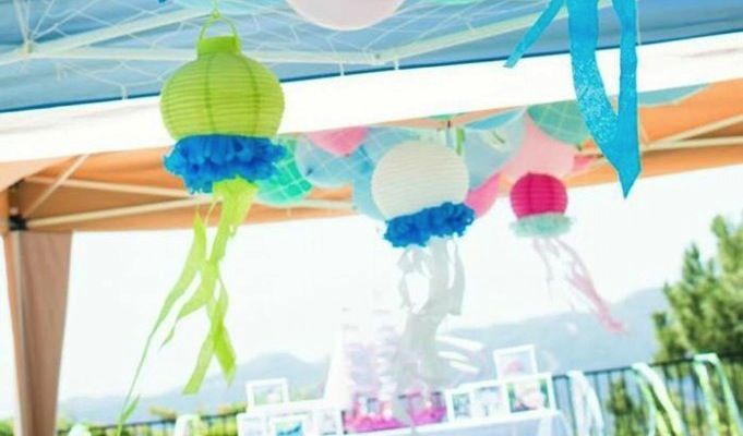 Mermaid Princess 5th Birthday Party