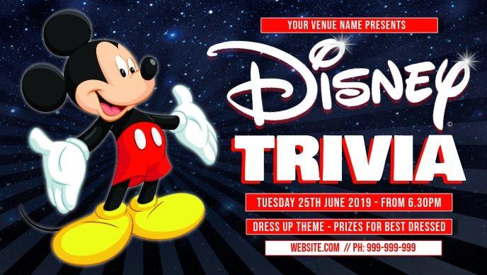 Disney Trivia Facebook Cover Disney Facts Trivia Trivia Quiz