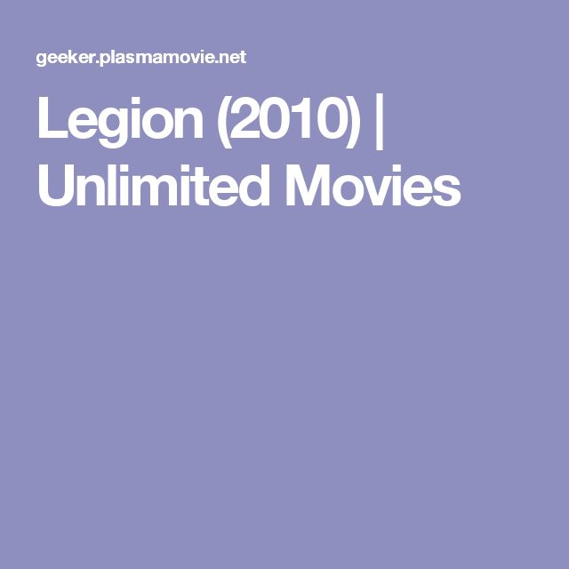 Legion (2010) | Unlimited Movies