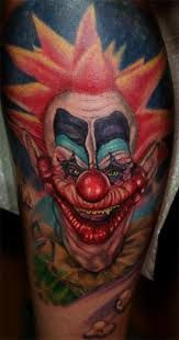 killer klowns from outer space tattoos -