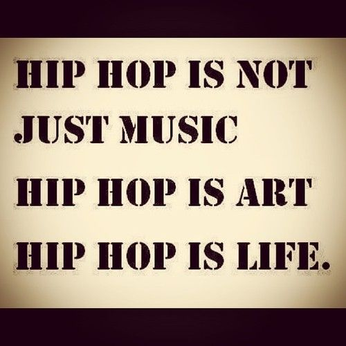 The effects of hip hop music in society today