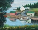 David Howells paintings are primarily traditional pastoral landscapes and garden scenes in oil on canvas. Though his work is realistic, he calls it ' a tightened form of Impressionism'. His many travels have inspired him greatly, but it is the simple beauty of gentle rural landscapes that appeals to him most.
